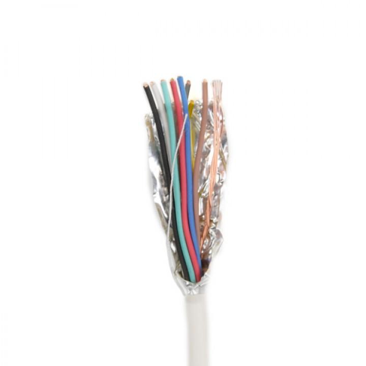 Сигнальный кабель ATIS 8*0.22S (биметалл) бухта 100м