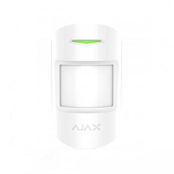 Беспроводной датчик движения Ajax MotionProtect Plus white с микроволновым сенсором