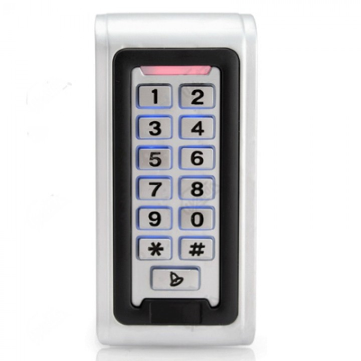 Металлическая кодовая клавиатура AK-601