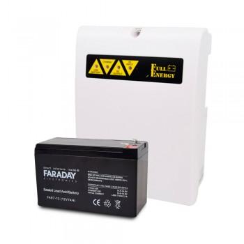 Комплект блок бесперебойного питания Full Energy BBGP-125 + аккумулятор 12В 7 Ач для ИБП Faraday Electronics FAR7-12