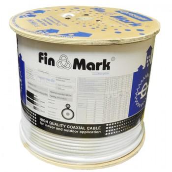 Кабель коаксиальный FinMark F 660 BV white CU бухта 305м