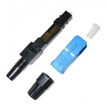 Разъем Fast connector SC/UPC-FTTH-02 для быстрого монтажа на кабель с одномодовым оптическим волокном