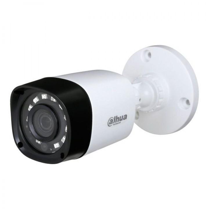 HDCVI видеокамера 2Мп Dahua HFW1220RP-S3 (2.8 мм) пластик для системы видеонаблюдения