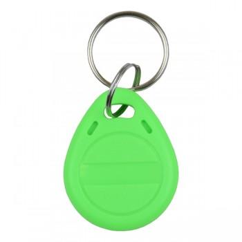 Брелок RFID KEYFOB EM RW Green