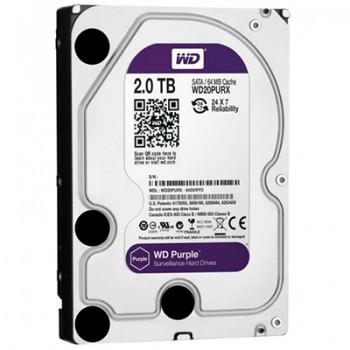 Жесткий диск Western Digital Purple 2TB WD20PURX для видеонаблюдения