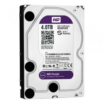 Жесткий диск 4TB Western Digital  WD40PURX для видеонаблюдения