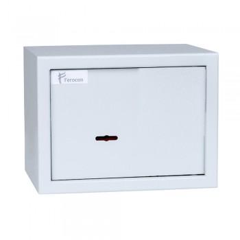 Сейф мебельный Ferocon БС-15К.7035 с ключевым замком