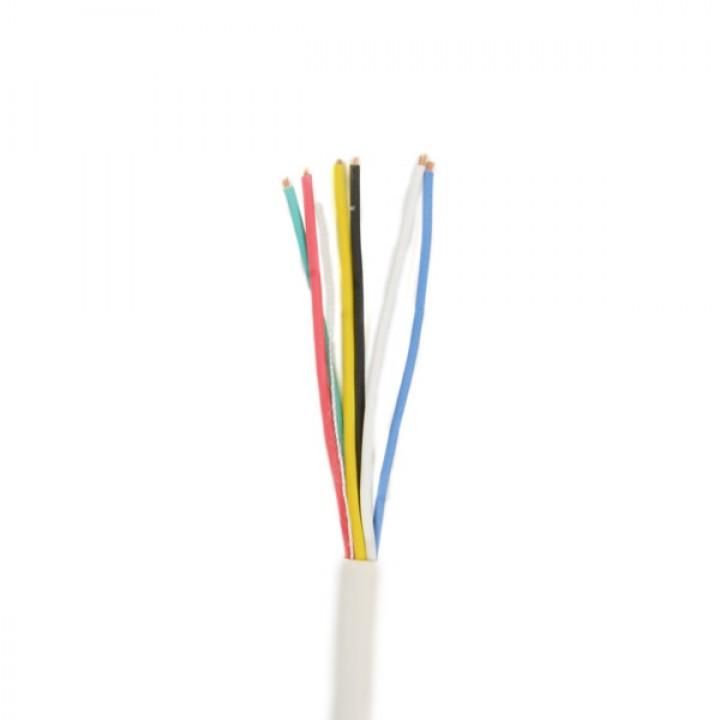 Сигнальный кабель ATIS в метрах 6*0.22U-Cu