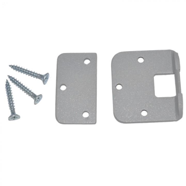 Монтажный комплект lite для замков Dori на металлическую дверь (серый)