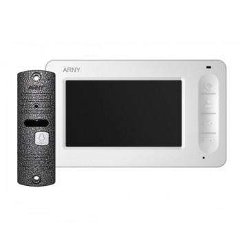 Комплект видеодомофона Arny AVD-4005 (белый/серый)