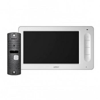 Комплект видеодомофона Arny AVD-7005 (белый/серый)