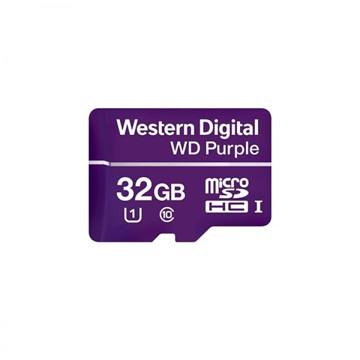 Карта памяти Western Digital 32GB SDHC для видеонаблюдения