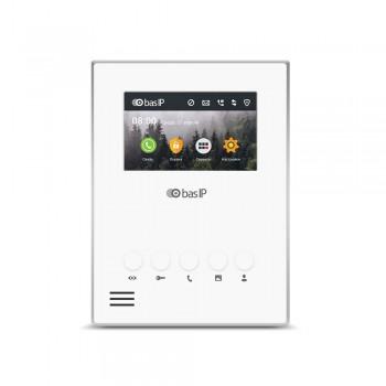 "IP-видеодомофон 4.3"" Bas-IP AU-04LA white"