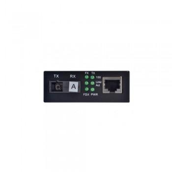 Медиаконвертер Step4Net 10/100Base-TX to 100Base-FX MC-A-0.1-1SM-1310nm-20