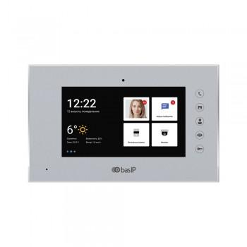 IP-видеодомофон BAS-IP AQ-07L silver