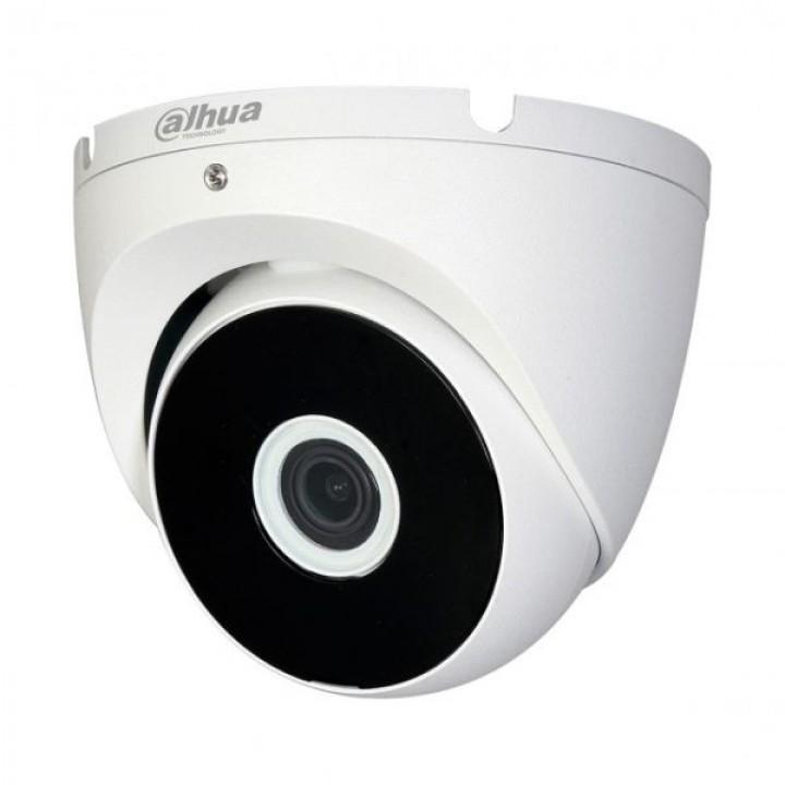 HDCVI видеокамера 1Мп Dahua HAC-T2A11P 2.8mm металл для системы видеонаблюдения