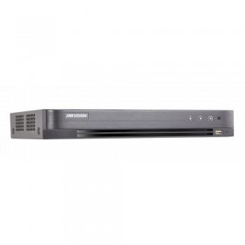 HD-TVI видеорегистратор 4 канальный Hikvision IDS-7204HUHI-M1/S с поддержкой детекции лиц с 1 канала