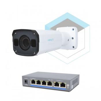Комплект для управления и контроля доступа автотранспорта 2 на 1 камеру
