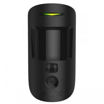 Беспроводной датчик движения Ajax MotionCam black с фотокамерой для подтверждения тревог