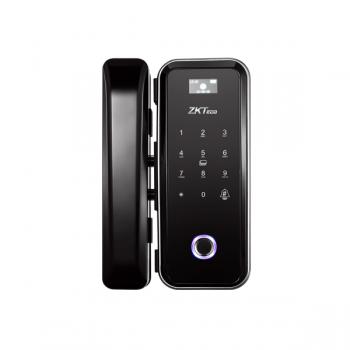 Smart замок ZKTeco GL300 для стеклянных дверей со сканером отпечатка пальца и считывателем Mifare