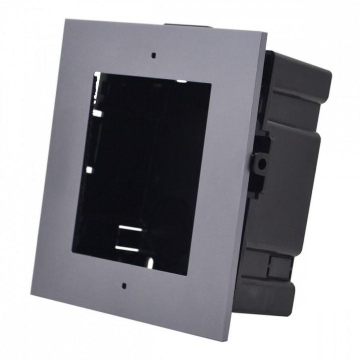 Врезная панель Hikvision DS-KD-ACF1/Plastic для монтажа вызывных панелей