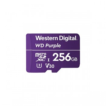 Карта памяти MICRO SDXC 256GB Western Digital PURPLE WDD256G1P0A
