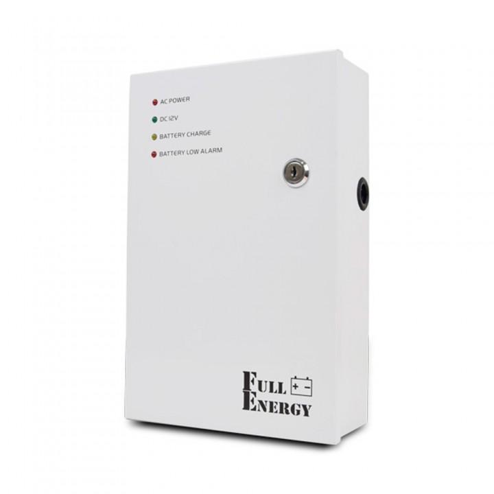 Блок бесперебойного питания Full Energy BBG-125-L для видеонаблюдения 12В, 5А, под 18Ач аккумулятор