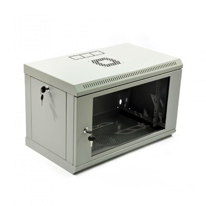 Шкаф серверный Hypernet 6U 600 x 500 x 373 UA-MGSWL65G для сетевого оборудования
