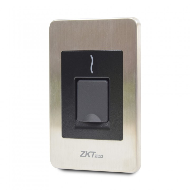 Биометрический считыватель отпечатков пальцев влагозащищенный ZKTeco FR1500(ID)-WP врезной