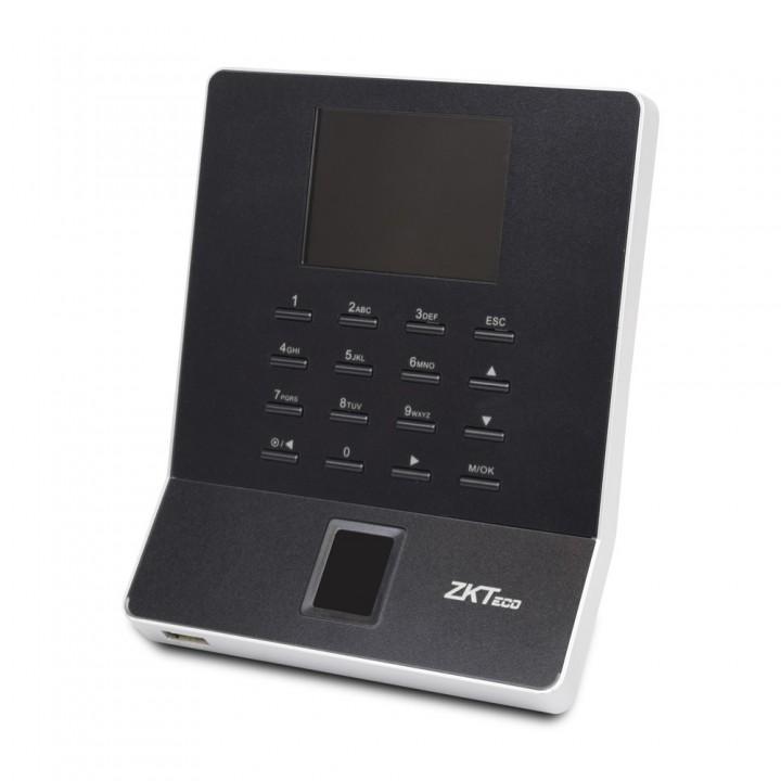 Биометрический терминал ZKTeco WL20 black со считывателем отпечатка пальца и EM-Marine карты с Wi-Fi