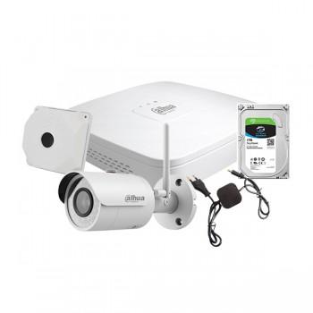 Комплект наружного IP видеонаблюдения Dahua WiFi kit 1cam