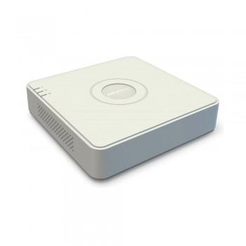 HD-TVI видеорегистратор 4 канальный Hikvision DS-7104HUHI-K1(S) с поддержкой аудио по коаксиалу