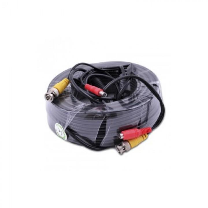 BNC-power кабель 18 м