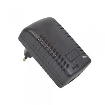POE инжектор ATIS 48V 0.5 A (24Вт) с портами Ethernet 10/100/Мбит/с