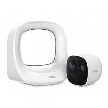 Wi-Fi IP видеокамера беспроводная 2 Мп IMOU Kit-WA1001-300/1-B26EP (Cell Pro) с базовой станцией для системы видеонаблюдения