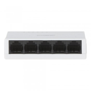 Сетевой коммутатор на 5 портов Dahua DH-PFS3005-5ET-L неуправляемый