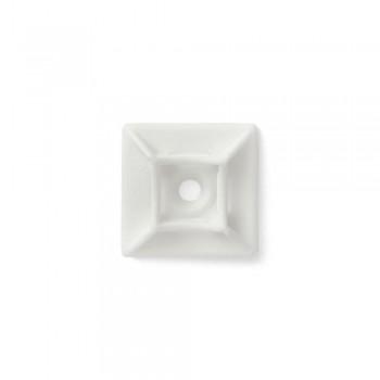 Площадка для стяжки Relfix самоклеящаяся универсальная (50шт/уп) белая