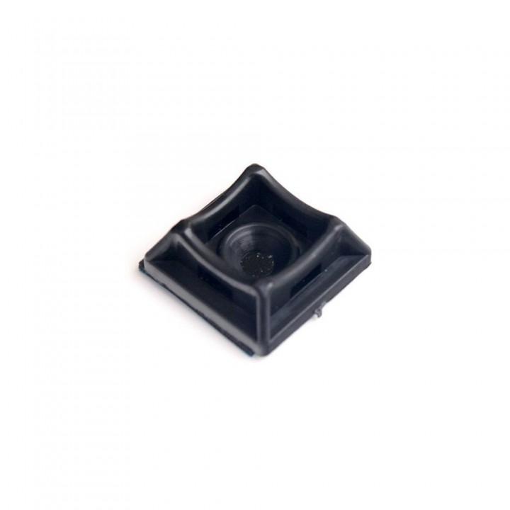 Площадка для стяжки Relfix самоклеящаяся универсальная (50 шт/уп) черная