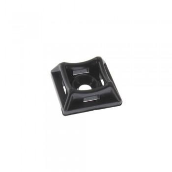 Площадка для стяжки Relfix под дюбель (50 шт/уп) черная