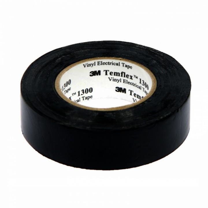 Изолента 3М Temflex 1300 (19мм х 20м), черная