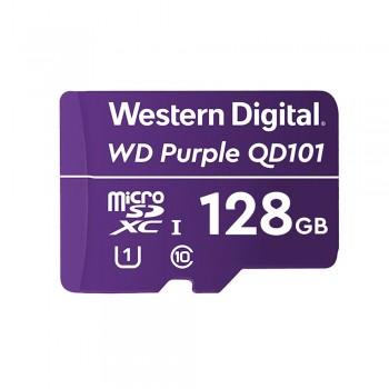 Карта памяти Western Digital SDXC 128GB QD101 специализированная для видеонаблюдения