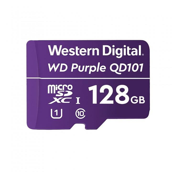 Карта памяти Western Digital SDXC 128GB специализированная для видеонаблюдения