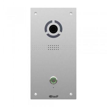 IP вызывная панель Bas-IP AV-04FD silver для IP-домофонов