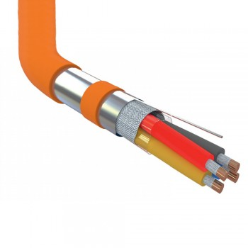 Огнестойкий безгалогенный кабель JE-H(St)H FE180 / E30 4x2x0,8