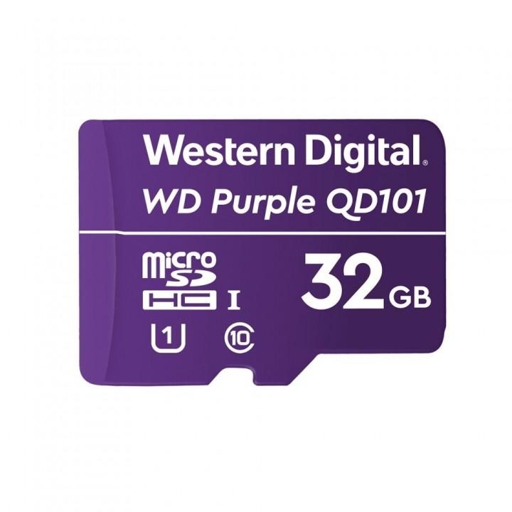 Карта памяти Western Digital 32GB SDXC для видеонаблюдения