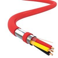 Огнеупорный ПВХ кабель УкрПожКабель J-Y(St)Y 4x2x0.8