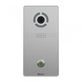 IP вызывная панель Bas-IP AV-04SD silver для IP-домофонов