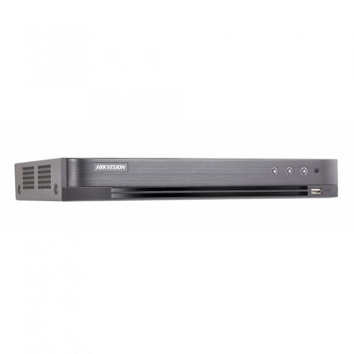 HD-TVI видеорегистратор 4-канальный Hikvision iDS-7204HQHI-M1/FA с поддержкой детекции лиц с 1 канала для системы видеонаблюдения