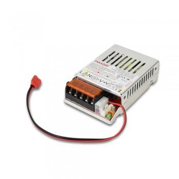 Бесперебойный блок питания Faraday Electronics 20W UPS ASCH ALU под аккумулятор 4А/ч в алюминиевом корпусе