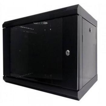 Шкаф серверный Hypernet 9U 600 x 450 WMNC-9U-FLAT-BLACK для сетевого оборудования